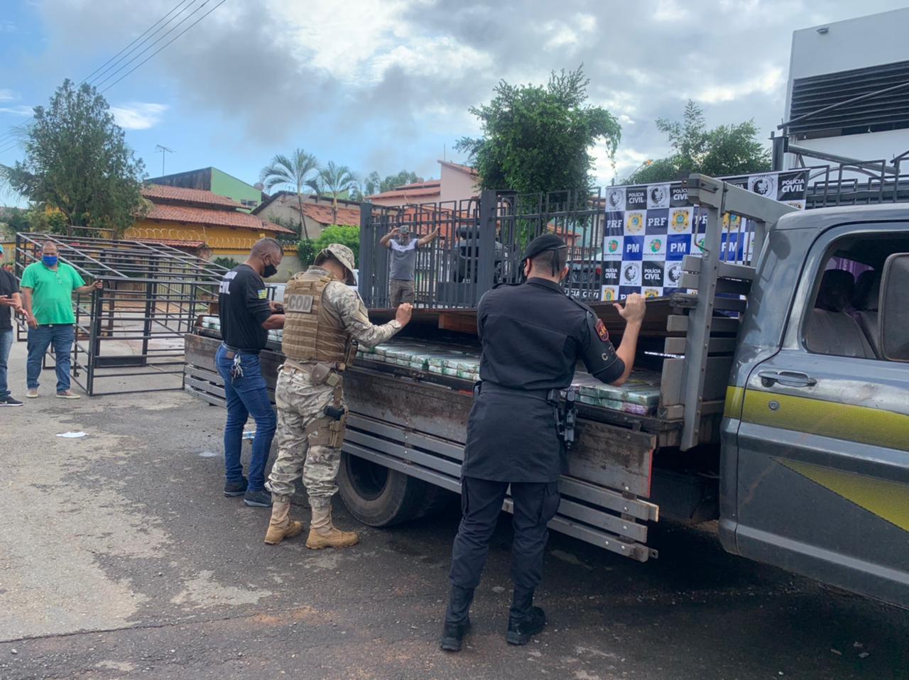 Força-tarefa monitorou diferentes rotas em diferentes estados a fim de encontrar o caminhão, que foi apreendido na última sexta-feira (19)