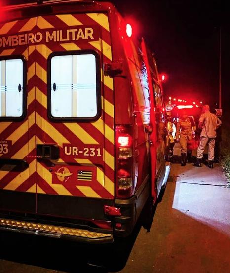 O Corpo de Bombeiros foi acionado, mas a vítima já estava com a crise controlada