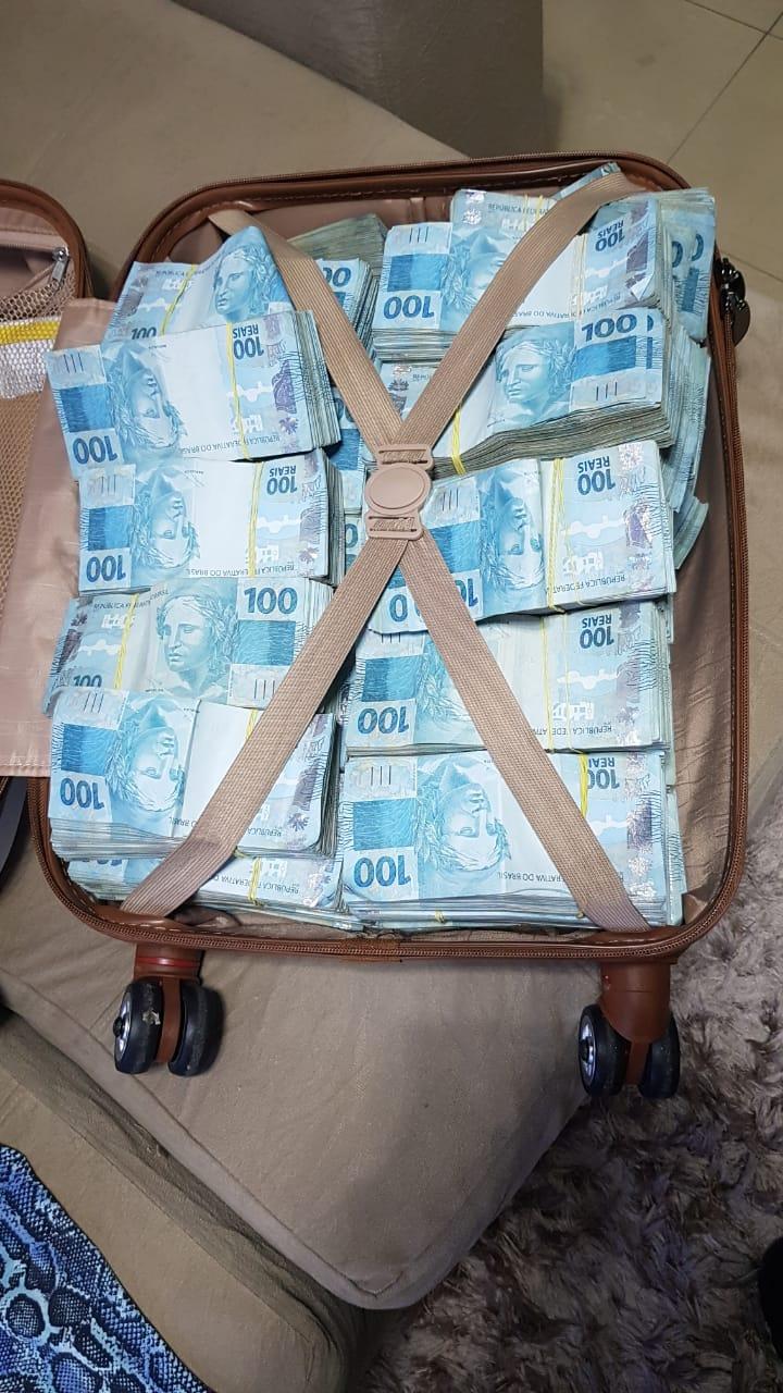 PF recupera R$ 800 mil em operação contra fraudes no auxílio emergencial em Goiás (Foto: Divulgação/ Polícia Federal)