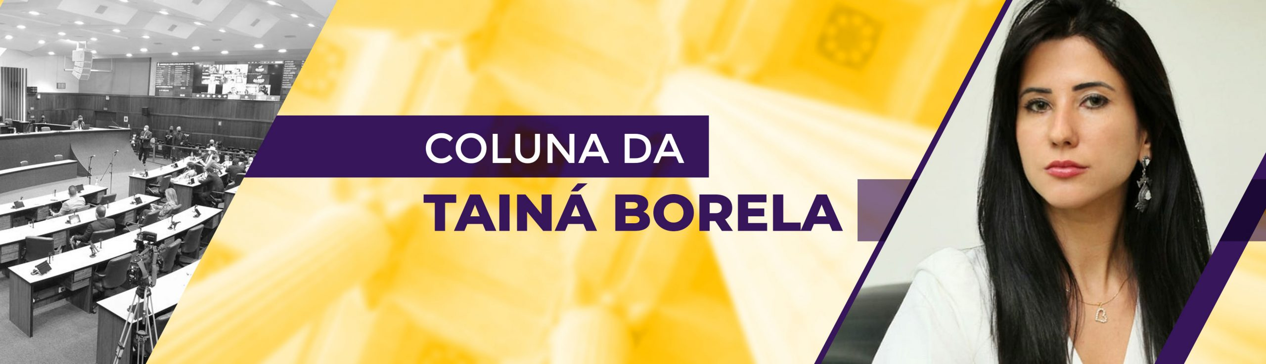Coluna da Tainá Borela