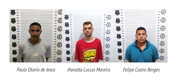 Em um dia, polícia prende três suspeitos de roubo a motoristas de aplicativo em Goiânia
