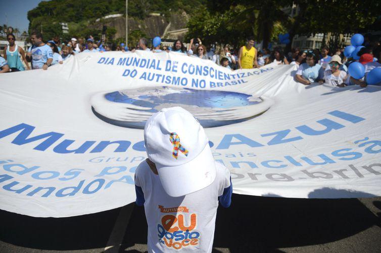 Rio de Janeiro - Caminhada do Dia Mundial da Conscientização do Autismo - Tânia Rêgo/Agência Brasil/Arquivo