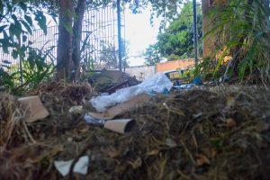 Falta de grades de proteção favorece degradação e insegurança no Parque Tamanduá (Foto: Jucimar de Sousa/MaisGoiás)