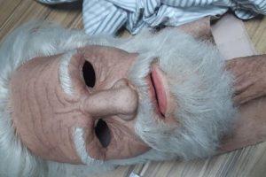 Jovem usa disfarce de idoso para tentar roubar joalheria no Espírito Santo (Foto: Reprodução/Polícia Militar)