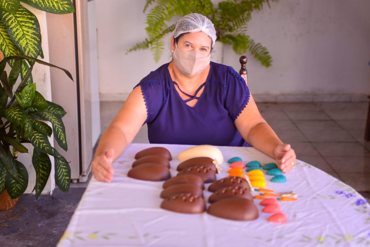 Pedagoga Maylla Ferreira da Silva Barrozo (Foto: Jucimar de Sousa/Mais Goiás)
