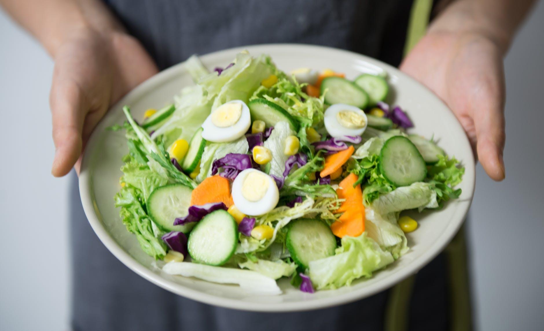 Salada para as mães fitness