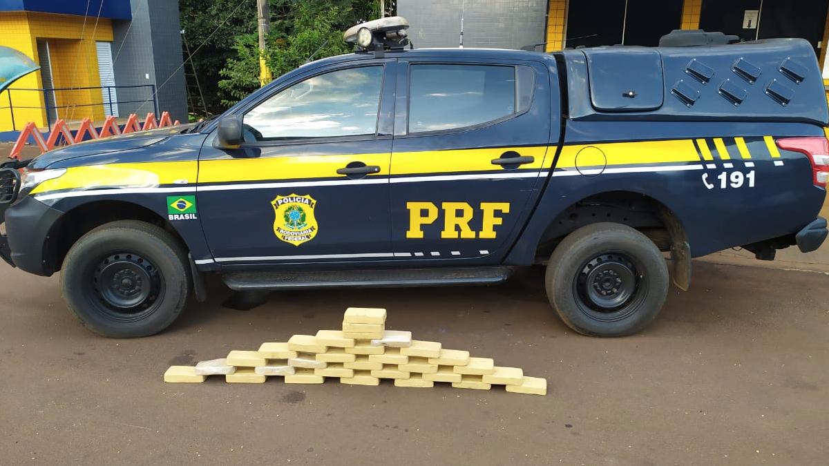 Droga avaliada em R$ 4 milhões é encontrada escondida em porta de carro, em Jataí
