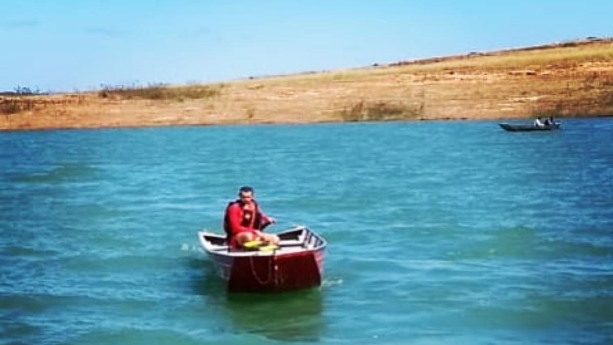 familiares pediram por ajuda e informaram que o homem estava no lago e já não respondia aos telefonemas por 24 horas
