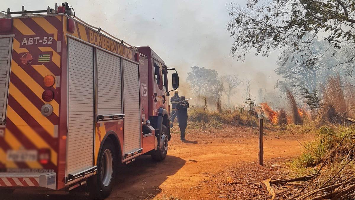 Desde 2011, Goiás registra média de 6,5 mil incêndios florestais por ano