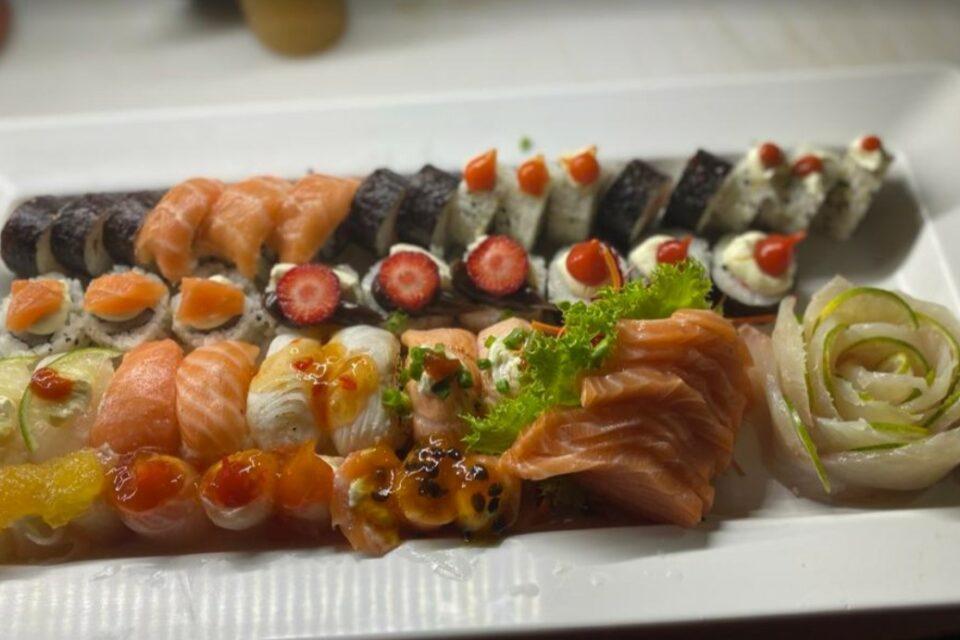 Comida japonesa em Aparecida de Goiânia na Day Sushi