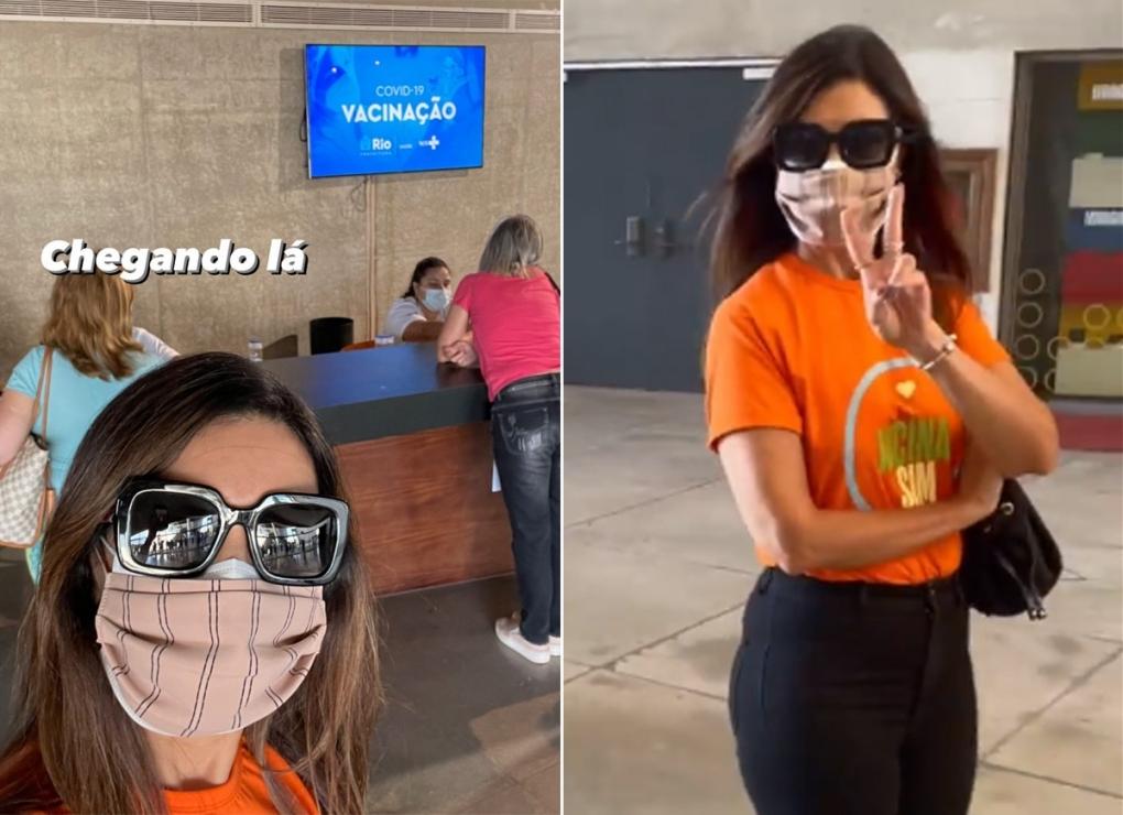 Fátima Bernardes fez suspense com seguidores