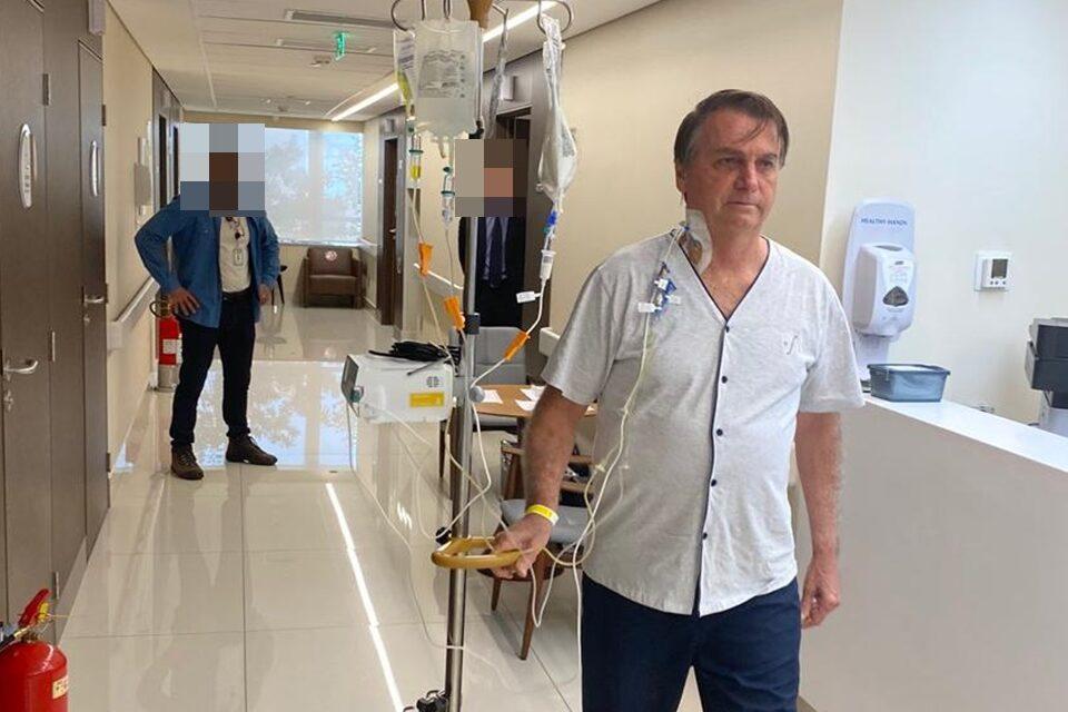 Hospital diz que Bolsonaro fez teste para Covid-19 antes de ser internado