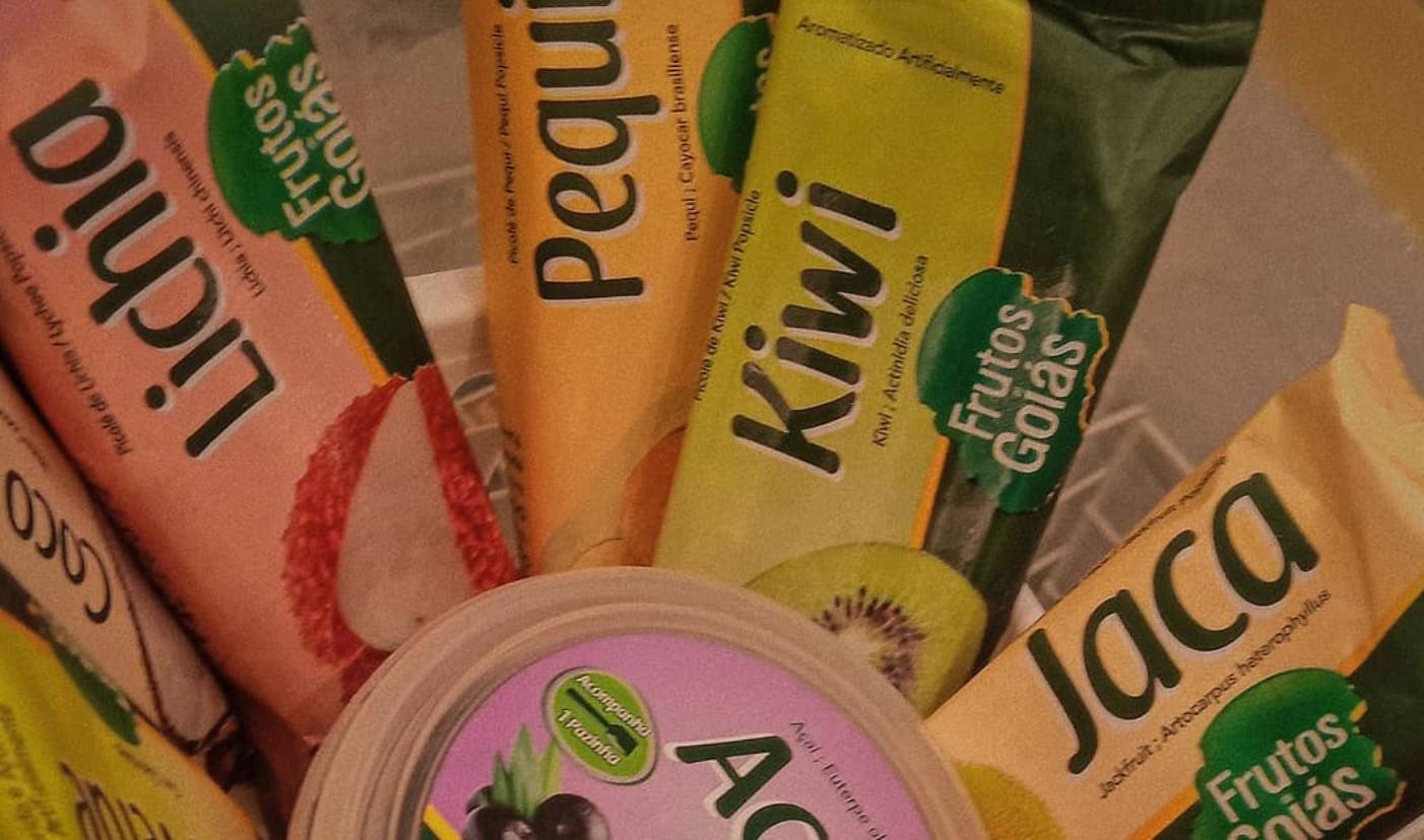 Frutos de Goiás é opção de sorvete em Aparecida de Goiânia