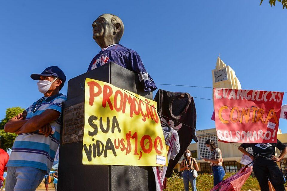 Ato contra Bolsonaro acontecerá em 23 cidades goianas, neste sábado (24) (Foto: Jucimar de Sousa/Mais Goiás)