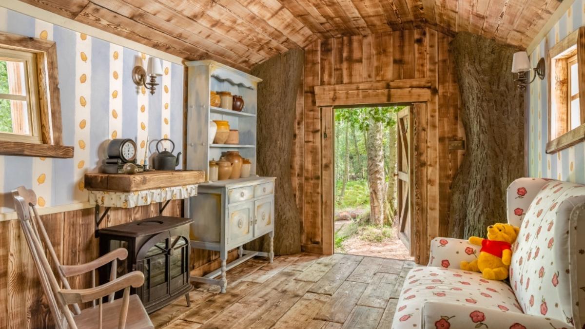 Casa na árvore do Ursinho Pooh poderá ser alugada na Inglaterra: confira fotos