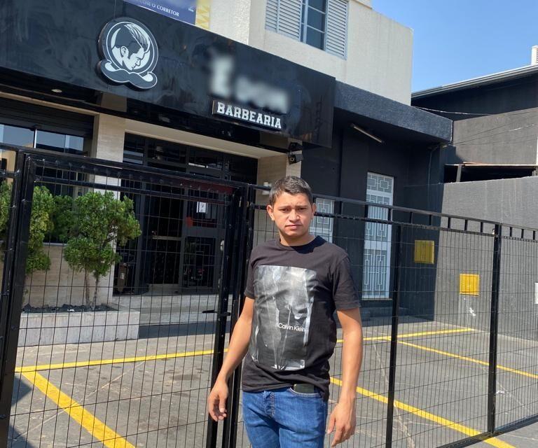 O empresário Ricardo Ferreira está sem energia elétrica há mais de 30 horas, no Setor Marista (Foto - Arquivo Pessoal)