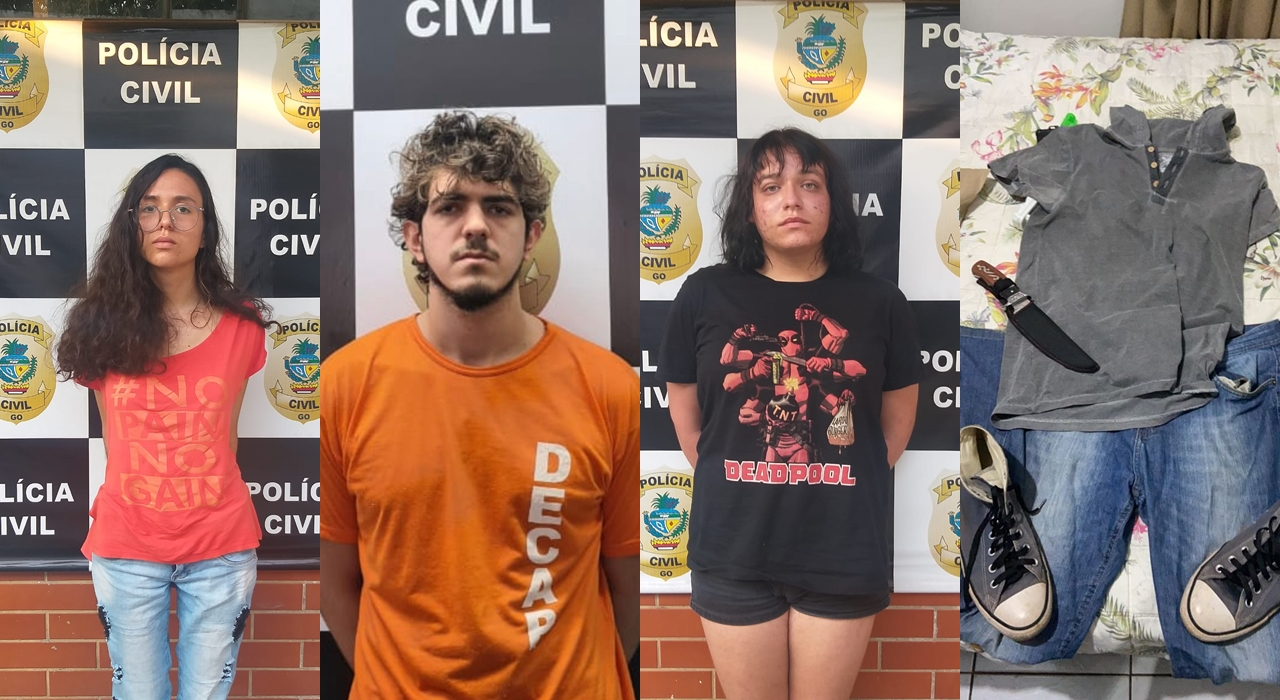 Trio detido estaria planejando novo homicídio, segundo as investigações (Foto: divulgação/PC)_