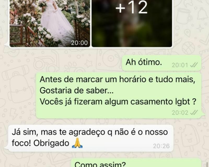Conversa pelo WhatsApp