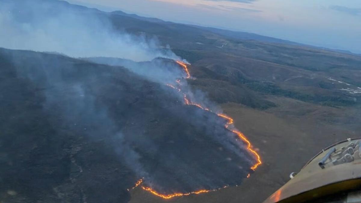Ação humana iniciou incêndio de 12 dias na Chapada dos Veadeiros, diz polícia